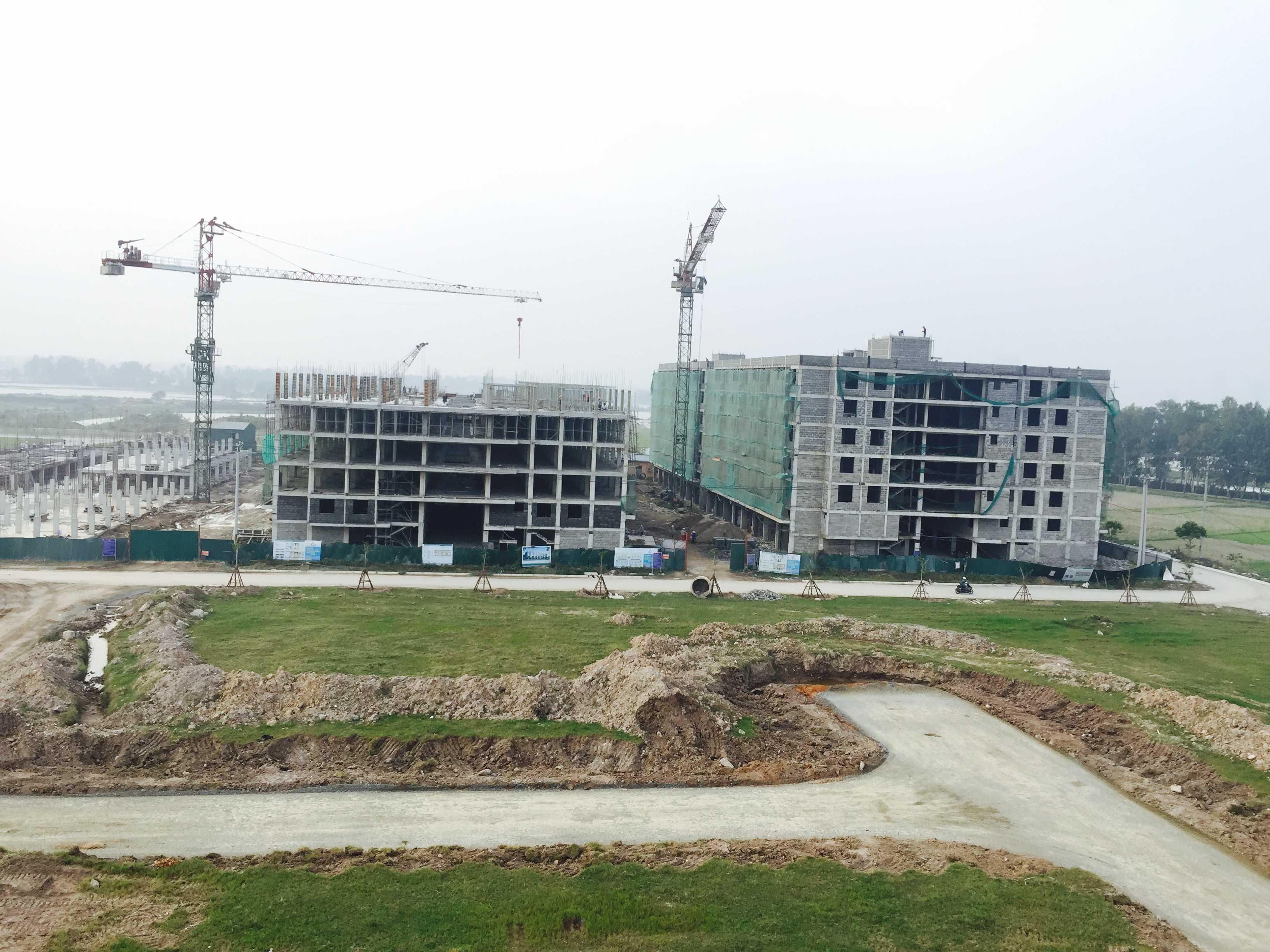 Chung cư thấp tầng tại đô thị Thanh Hà- Hà Đông sẽ được bàn giao tháng 3 tới