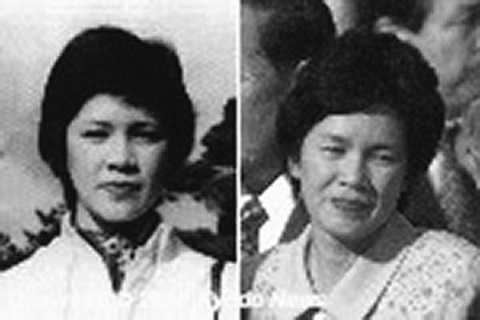 Yukiko Okudo trước và sau khi bị bắt cóc