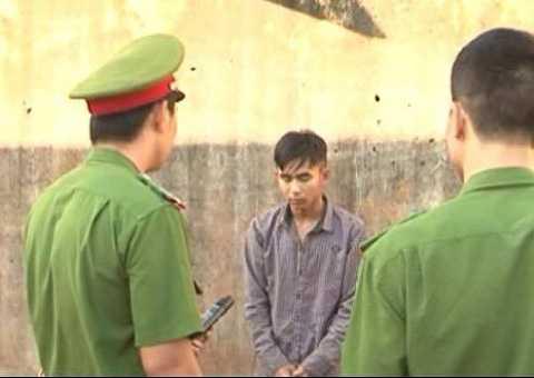 Đối tượng đang tạm giam tại huyện Krông Năng
