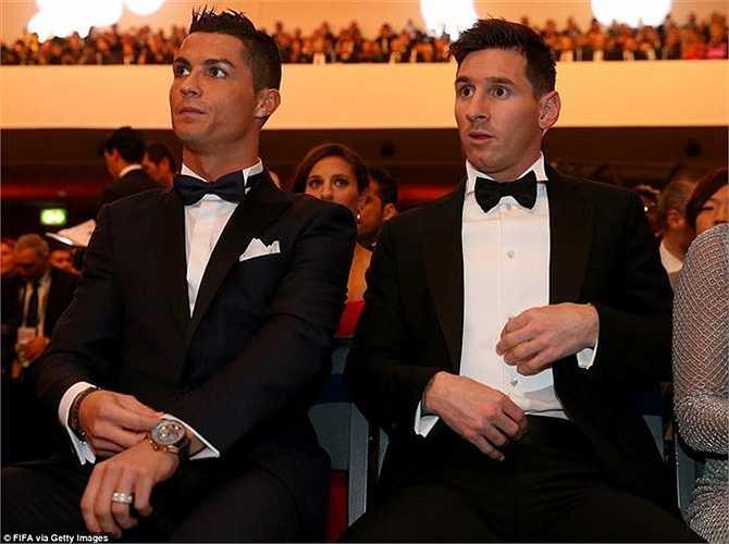 Tỉ lệ phiếu cầu của Messi bỏ xa so với Ronaldo, người chỉ nhận 27,76% phiếu bầu và chấp nhận giành Quả bóng bạc
