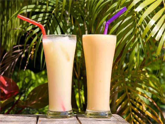 Shake: là đồ uống có xay kem và sữa tươi. Shake nên có trong chế độ ăn uống của bạn, nếu bạn muốn ngăn chặn béo phì. Shake chứa nhiều  protein và chất xơ và không chứa nhiều calo và ít lượng tinh bột.