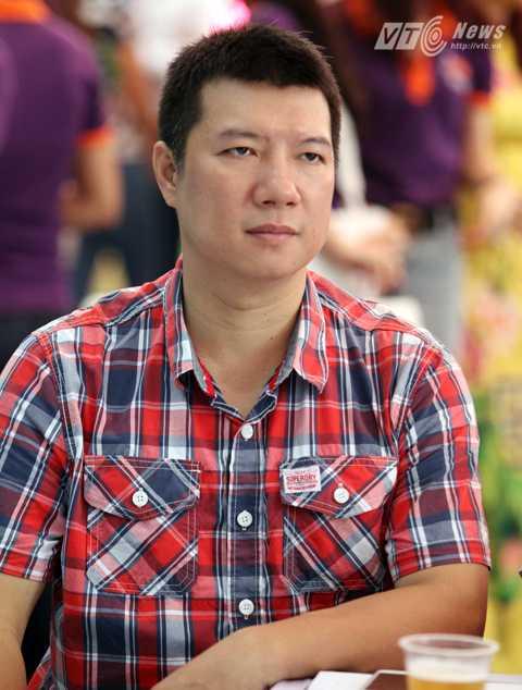 BLV Quang Huy (Ảnh: Hà Thành)