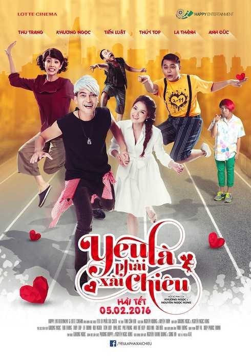 Yêu Là Phải Xài Chiêu - Phim Việt Nam 2016 SDTV 1080P AAC2.0 x264-ZiN