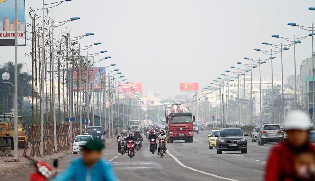 Sáng 17/1, Sở Giao thông Vận tải Hà Nội đã thông xe kỹ thuật, cho phép các phương tiện lưu thông trên toàn tuyến - Ảnh: Nam Trần