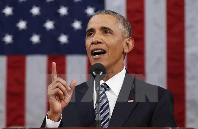 Tổng thống Mỹ Barack Obama. (Ảnh: AFP/TTXVN)
