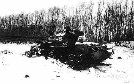 Xác xe tăng T-62 của Liên Xô