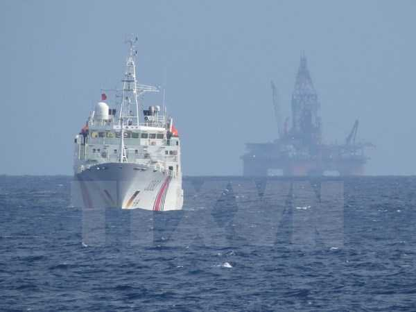 Trung Quốc hạ đặt trái phép giàn khoan trong vùng đặc quyền kinh tế, thềm lục địa của Việt Nam