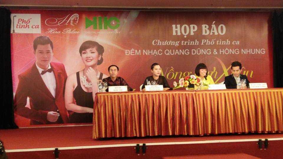 Hồng Nhung và Quang Dũng 'tái hợp' trong chương trình 'Phố tình ca' đầu tiên với chủ đề 'Nồng nàn Xuân'.