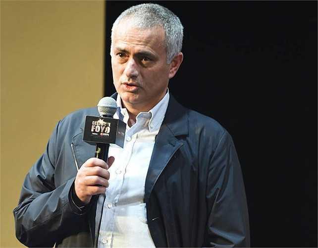 Tại Thượng Hải, Mourinho đã phát biểu khá cặn kẽ nhiều vấn đề trong buổi họp báo đối tác chiến lược do Gestifute và FOYO tổ chức