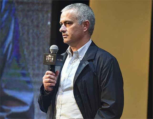 Trong quá khứ, Mourinho từng có những ví von không hay về nền bóng đá Trung Quốc, thậm chí coi nền bóng đá nước này khó có thể phát triển