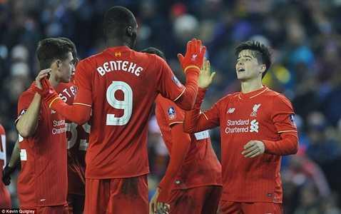 Liverpool vừa đánh bại Exeter ở FA Cup