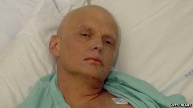 Cựu điệp viên KGB Alexander Litvinenko. (Nguồn: Getty)