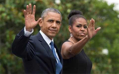 Tổng thống Obama và phu nhân Michelle chưa tiết lộ họ sẽ đi đâu sau khi rời Nhà Trắng (Ảnh AFP)