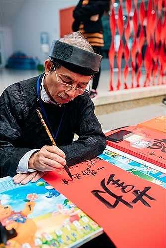 Xin chữ trong đầu năm mới từ xưa đã trở thành nét phong tục độc đáo của người Việt