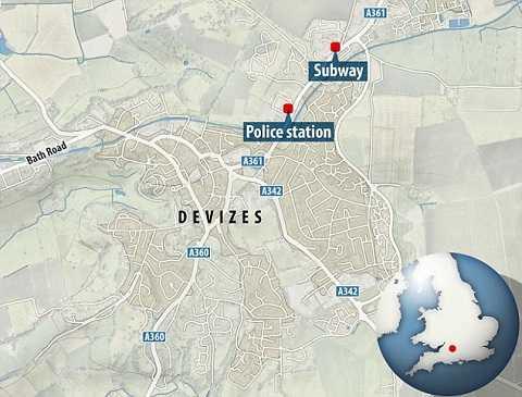 Địa điểm nơi Piotr Kupiec làm việc cũng rất gần với sơt cảnh sát