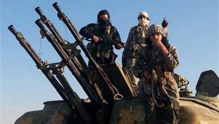 Tổ chức Nhà nước Hồi giáo (IS) tự xưng được cho là đang sở hữu các loại vũ khí có thể bắn hạ máy bay ở độ cao 4km