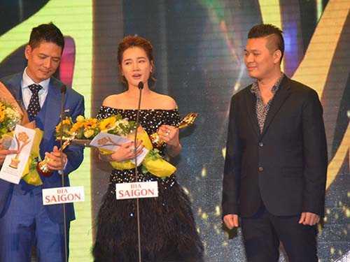 Nhã Phương giàng giải Nữ diễn viên phim điện ảnh - truyền hình xuất sắc nhất; Nghệ sỹ xuất sắc nhất