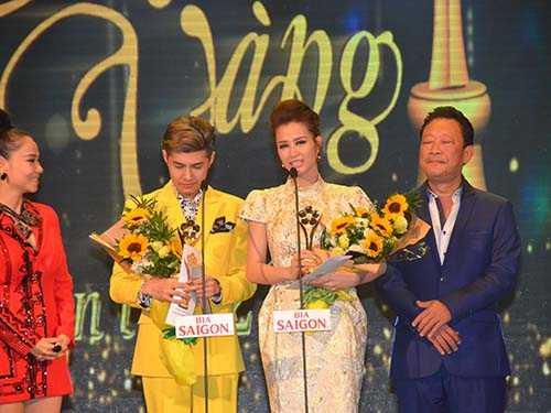 Mai vàng 2015 cũng vinh danh Đông Nhi tại hạng mục Nữ ca sỹ xuất sắc nhất