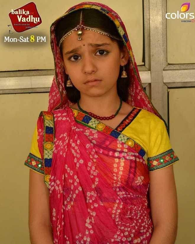 Con gái Nimboli của 'Cô dâu 8 tuổi' Anandi.