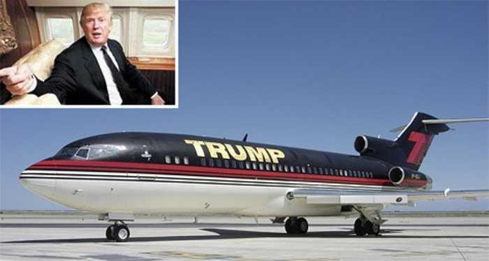 Donald Trump: chuyên cơ 100 triệu USD. Chuyên cơ khủng của tỷ phú Mỹ chỉ có thể được miêu tả bằng 1 câu đơn giản: Vàng, vàng, vàng, vàng và vàng ở khắp mọi nơi