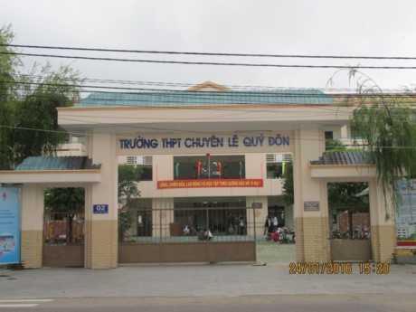 Trường THPT chuyên Lê Qúy Đôn