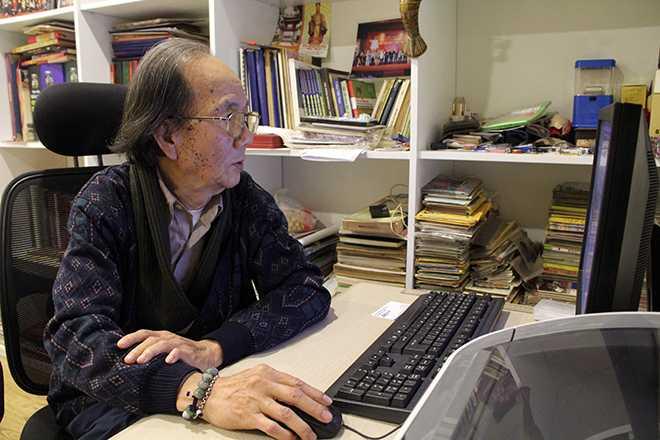 PGS Hà Đình Đức vẫn miệt mài nghiên cứu các công trình về Rùa Hồ Gươm