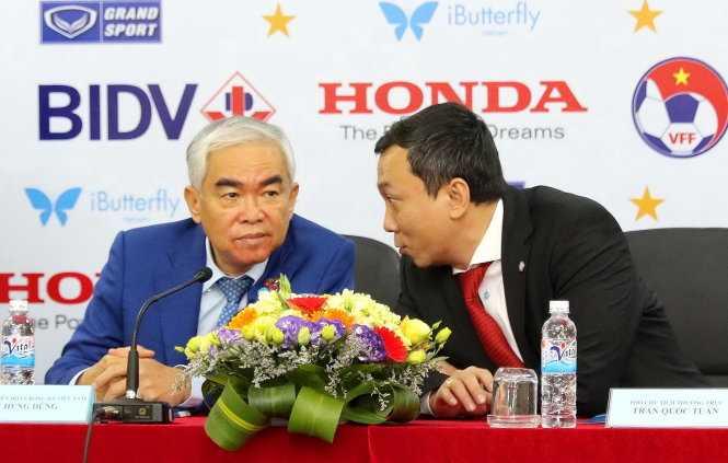 Chủ tịch VFF và phó chủ tịch VFF