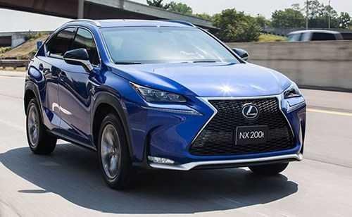 Lexus NX có giá bán 2,48 tỷ đồng tại thị trường Việt.