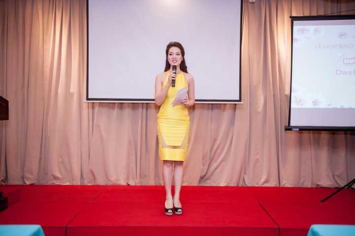 Vừa qua Á hậu Thụy Vân đã nhận lời làm MC và khách mời trong một buổi hội thảo về dinh dưỡng cho trẻ em.
