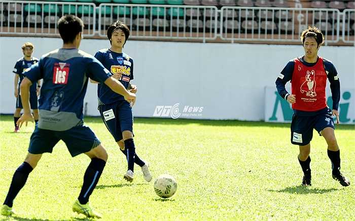 Tuấn Anh khá tự tin trong lần đầu ra nước ngoài chơi bóng. Với anh, Nhật Bản là môi trường đáng mơ ước để thử thách bản thân.