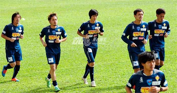 Theo đánh giá của GĐKT Yokohama, Tuấn Anh là cầu thủ có tiềm năng, có tố chất phát triển tốt. (Ảnh: Hùng Linh)
