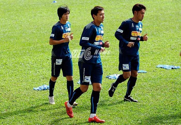 GĐKT Yokohama dự đoán, Tuấn Anh chỉ cần khoảng 3 tháng là đạt được phong độ cao nhất và thích nghi được với lối chơi của Yokohama tại Nhật Bản. (Ảnh: Hùng Linh)