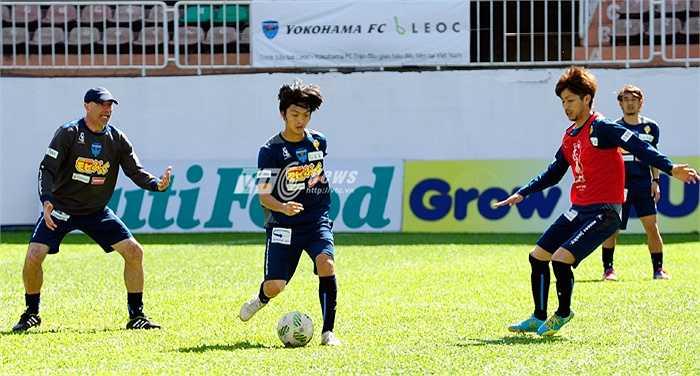 Ngày mai, Yokohama có trận đấu đầu tiên tại giải Tam hùng gặp SHB Đà Nẵng. Nhiều khả năng Tuấn Anh sẽ được cho thử lửa.