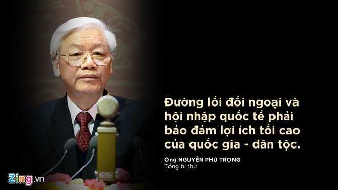 Tổng Bí thư Nguyễn Phú Trọng phát biểu tại phiên khai mạc Đại hội Đảng XII sáng 21/1.