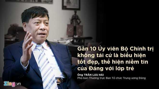 Ông Trần Lưu Hải, Phó trưởng ban thường trực Ban Tổ chức Trung ương Đảng trả lời Zing.vn