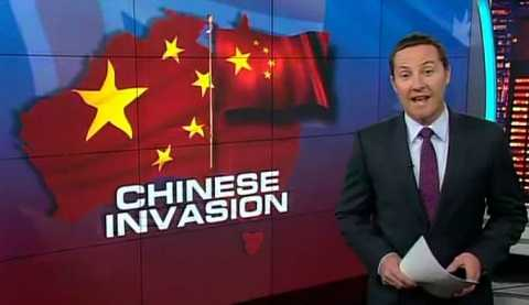 Một chương trình truyền hình ở Úc nói về làn sóng xâm lấn của Trung Quốc