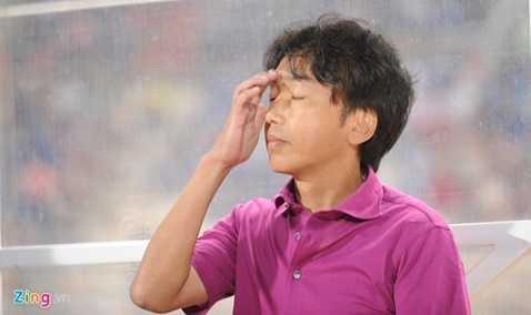 HLV Miura từng thất bại ở một số trận đấu quan trọng