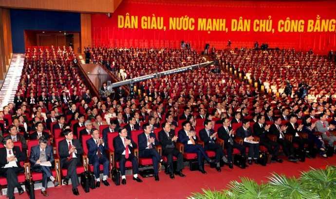 Việc bầu Chủ tịch Quốc hội, Chủ tịch nước, Thủ tướng khóa mới diễn ra sau kỳ họp thứ nhất Quốc hội khóa 14. (Ảnh minh họa: TTXVN)