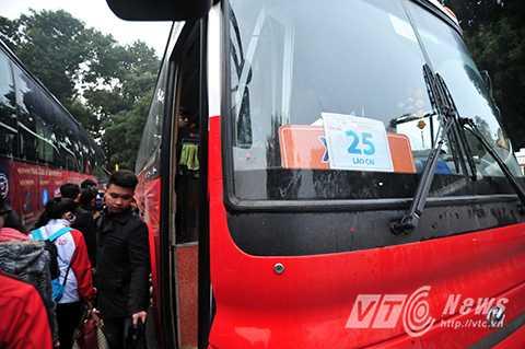 Theo khuôn khổ chương trình, những chuyến xe sẽ đưa 1.500 sinh viên về trên 19 tỉnh thành ở khu vực phía Bắc và Bắc Trung Bộ trải dài từ Hà Giang tới Quảng Bình.