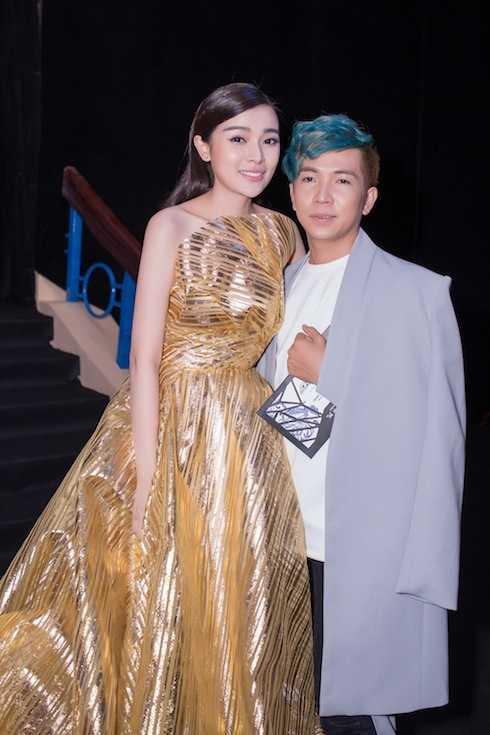 Cao Thái Hà và NTK Ivan Trần.
