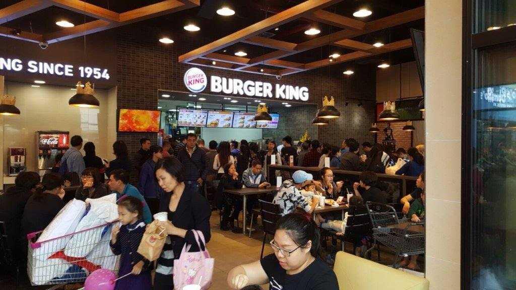 Burger King Aeon Mall Long Biên