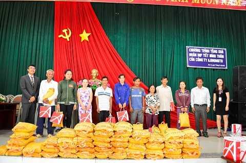 Công ty Ajinomoto Việt Nam luôn đồng hành cùng cộng đồng