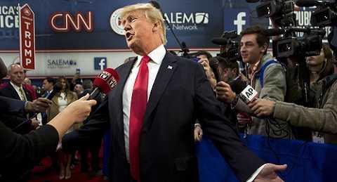 Ứng viên đảng Cộng Hòa DoNald Trump
