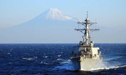 Tàu khu trục Mỹ USS Curtis Wilbur