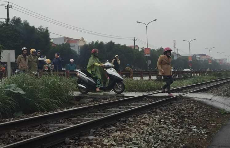 Địa điểm xảy ra vụ tai nạn.