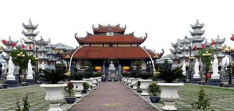 Chùa Cao Linh (xã Bắc Sơn, huyện An Dương, TP Hải Phòng)