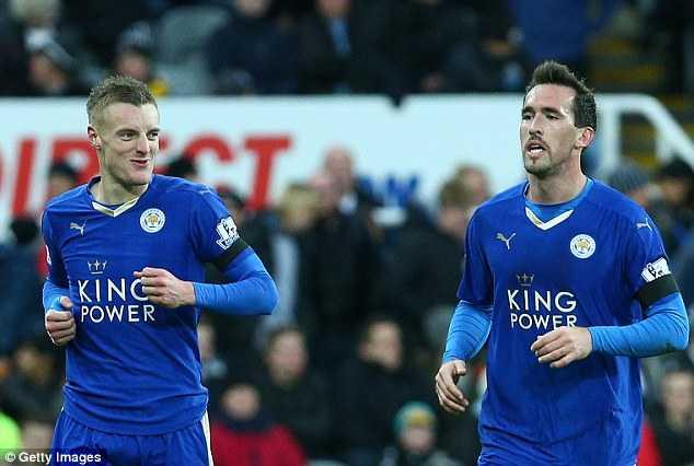 Vardy là công thân của Leicester City