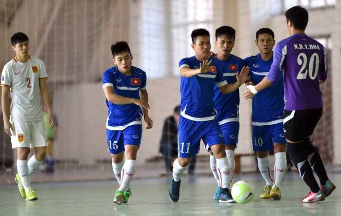 Tuyển Futsal VN 4-1 Trung Quốc