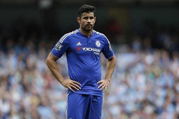 1. Diego Costa (Chelsea). Ảnh: Internet.