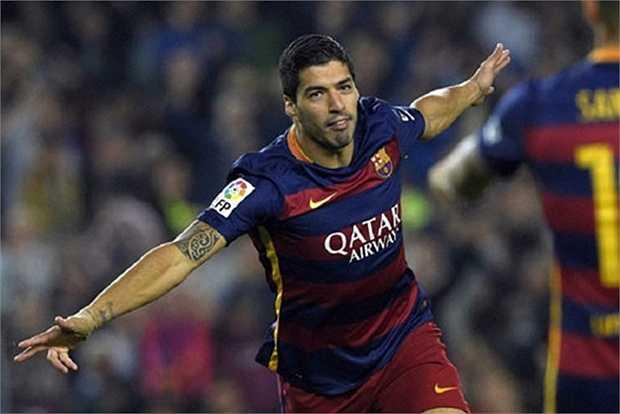 4. Luis Suarez (Barcelona). Ảnh: Internet.